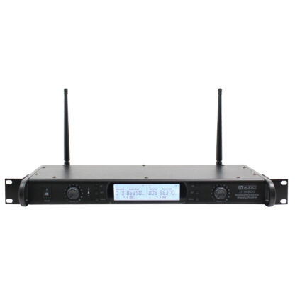 DTM 800H twin diversity wireless microphone system