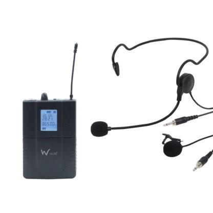 DTM 800BP beltpack wireless microphone transmitter