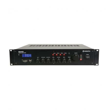 RM360SB 360w 100v line mixer amplifier with MP3 & Bluetooth