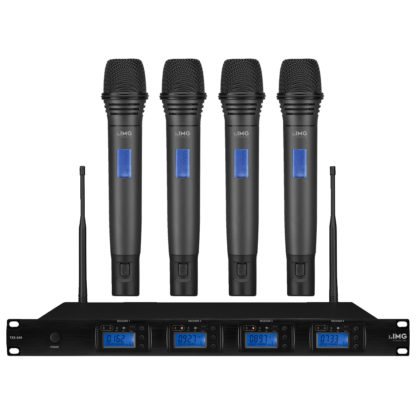 TXS-646HT/38SET 4 way Ch 38 hand-held wireless microphone system