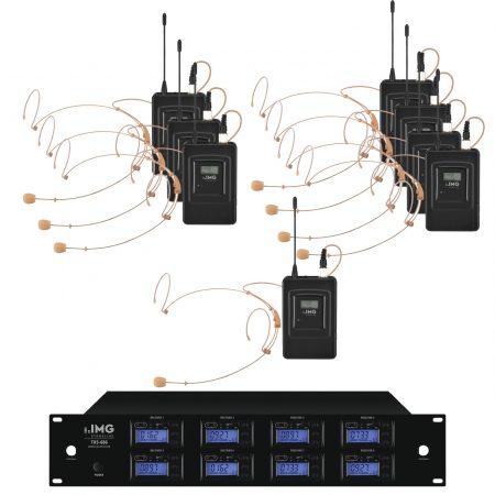TXS-686HSE/38SET 8 way Ch 38 bodyworn wireless microphone system