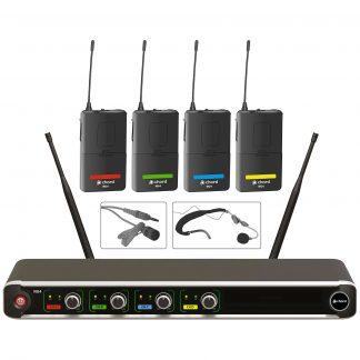NU4-N 4-way beltpack wireless microphone system