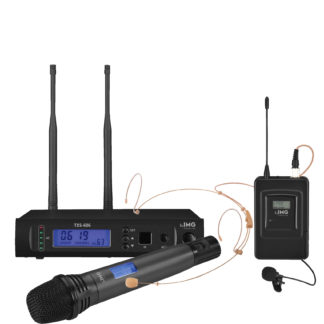 TXS-606/38SET UHF Ch 38 handheld or bodyworn radio microphone system