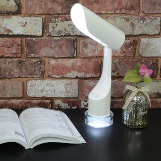 410.440 rechargeable LED desk lamp with colourful night light base