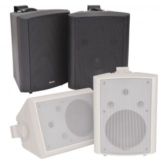 Adastra BC8 Series 90w 8 ohm white wall cabinet speakers (pair)