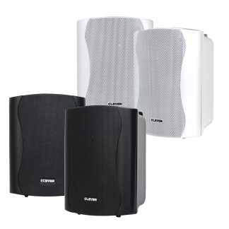 BGS 25T 16w 100V line or 8 Ohm white wall cabinet speakers