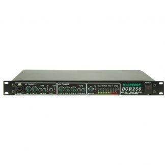 BGR250 rack mount mixer amplifier
