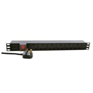 P710E 1U 6 way power distribution unit