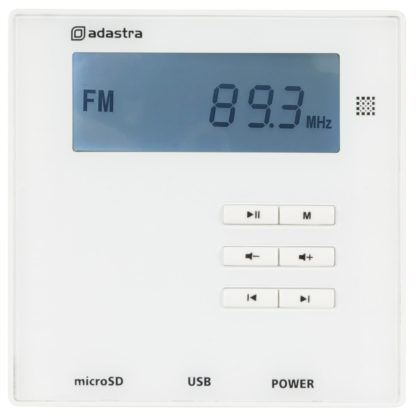 WA-210 wall mount amplifier 2 x 10w with USB/SD/FM & Bluetooth