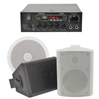 BGM-50 25 + 25 watt Bluetooth stereo background music system