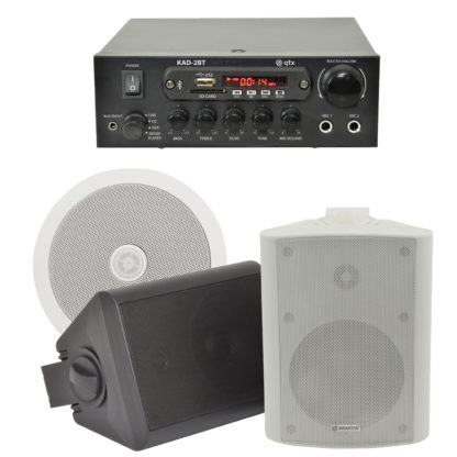BGM-50 25 + 25 watt Bluetooth stereo background music system