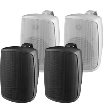 Monacor WALL Series pair of 2-way speaker systems
