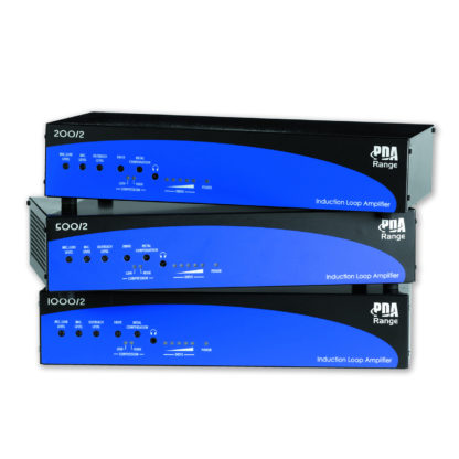 PDA Series induction loop amplifiers