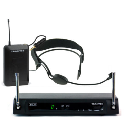 S4.04/SX headset wireless microphone system