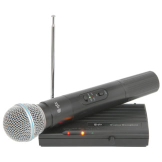 VHF Wireless Microphones