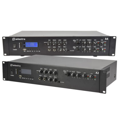 A Series zone mixer amplifiers