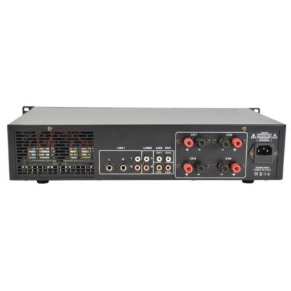 A4 4 x 200w 4 zone mixer amplifiers
