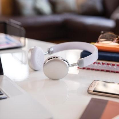 NEO-SLV silver Bluetooth headphones