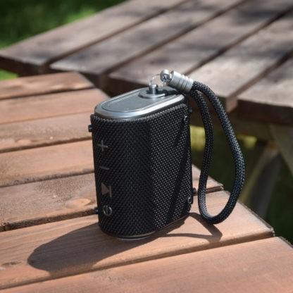WAVE-BLK black waterproof Bluetooth speaker
