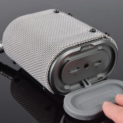 WAVE-SLV silver waterproof Bluetooth speaker