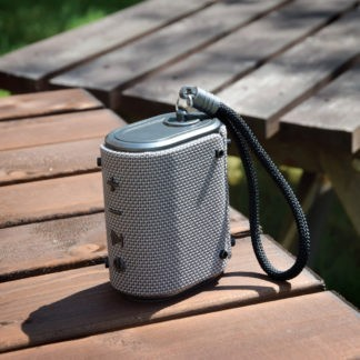 WAVE-SLV silver waterproof Bluetooth speaker