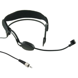 HSM-3SX headmic with locking 3.5mm jack