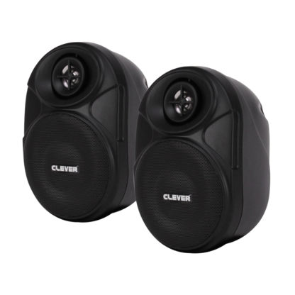 BGS 20T Series 100V line or 8 ohm black wall cabinet speakers (pair)