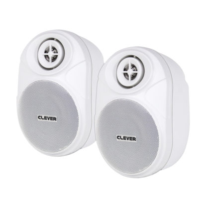 BGS 20T Series 100V line or 8 ohm white wall cabinet speakers (pair)