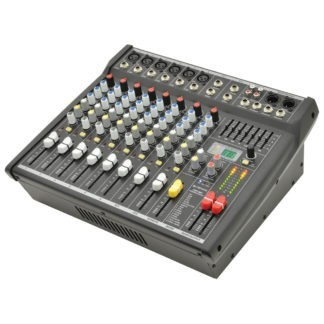 CSP-410 200+200w compact powered mixer with DSP