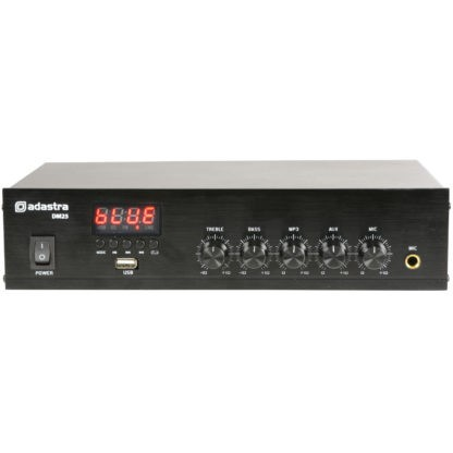 DM25 25w 100v line mixer amplifiers
