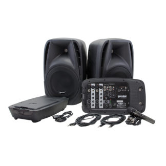 ES-210MX-BLU portable PA system