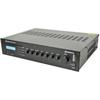 RMC120 5 channel 100v line mixer amp with CD player, MP3 and FM media player