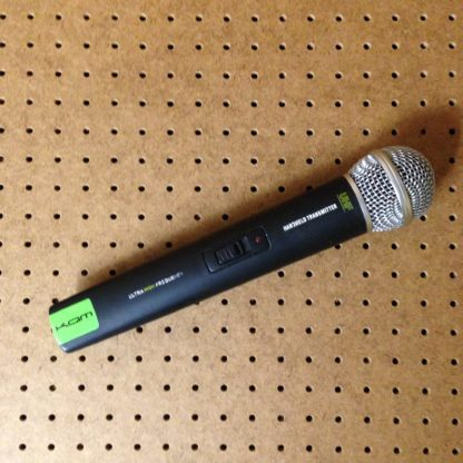 KAM KWM1940 16 channel UHF wireless microphone system with one handheld transmitter - used