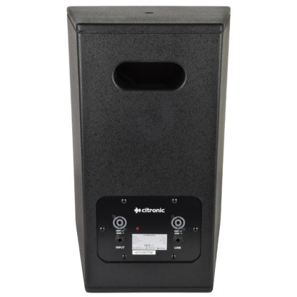 "Citronic CS-1035B black 350w 10"" passive wooden cabinet speaker"