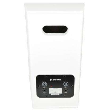 "Citronic CS-1035W white 350w 10"" passive wooden cabinet speaker"