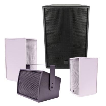 Citronic CS Series passive wooden cabinet speakers