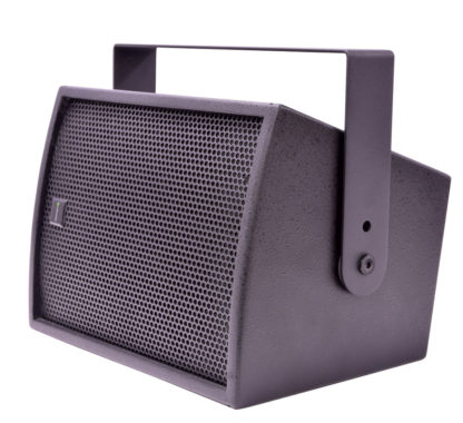 "Citronic CS-610B black 100w 6"" passive wooden cabinet speaker"