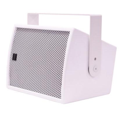 "Citronic CS-610W white 100w 6"" passive wooden cabinet speaker"