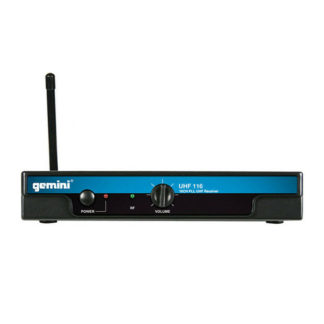 Gemini UHF-116M handheld wireless microphone system