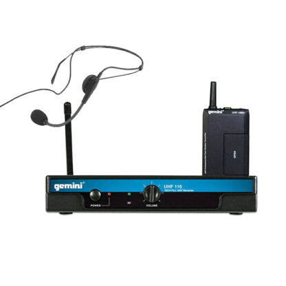 Gemini UHF-116 series wireless microphones