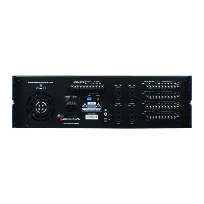 Clever Acoustics MA 4120 4 x 120w per zone public address mixer amplifier