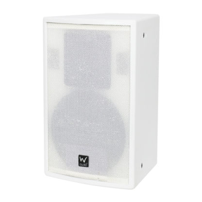 SR 10 white wall mounted cabinet speaker