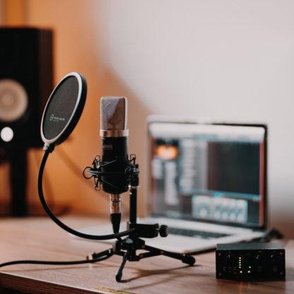 IMG Stageline PODCASTER-1 podcasting system