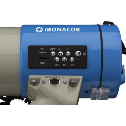 Monacor TM-17M megaphone with MP3 playback function
