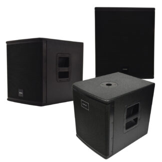 CASA-BA Series sub cabinet speakers