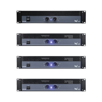 W Audio EPX Series stereo slave amplifiers