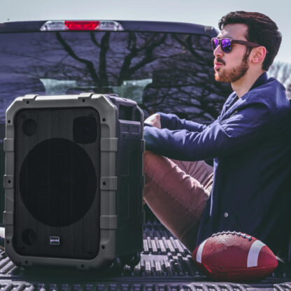 Gemini MPA-2400GRY black IPX4 portable all-in-one sound system