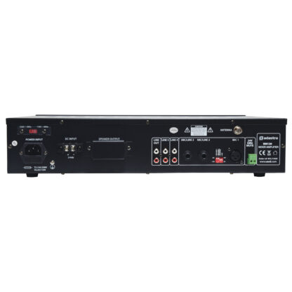 Adastra RM120 120w 5 channel 100v line mixer amps with Bluetooth, MP3 and FM media player