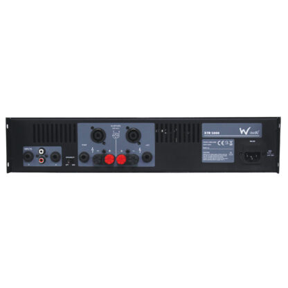 W Audio XTR 1000 350+350w RMS low impedance stereo power amplifier