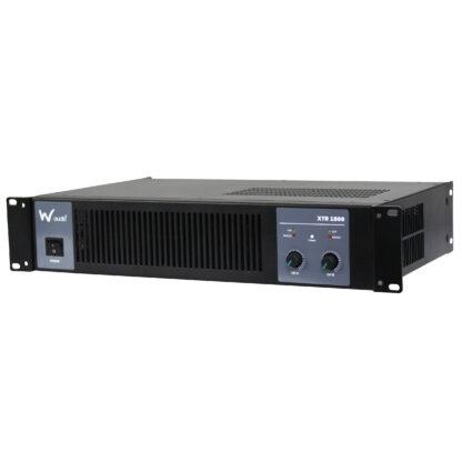 W Audio XTR 1500 500+500w RMS low impedance stereo power amplifier